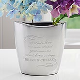 Personalized Flower Vase - Love You Longer - 16330