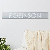 Personalized Wood Family Sign - Family Name - 16347