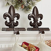 Fleur De Lis Christmas Stocking Holder - 16360