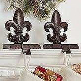 Fleur De Lis Christmas Stocking Holder - 16360