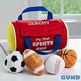 Personalized Baby Toys - My First Sports Ball Bag - 16371
