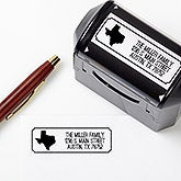 Personalized Address Stamps - Home State - 16382