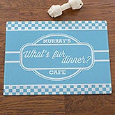 Personalized Pet Bowl Mat - Pet Puns - 16402