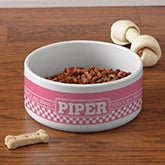 Personalized Pet Bowls - Pet Puns - 16403