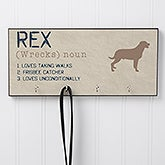 Personalized Leash Hanger - Definition Of My Dog - 16405