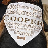 Personalized Pet Bandana - Doggie Delights - 16407
