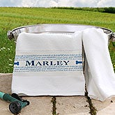 Personalized Pet Towel - Doggie Delights - 16408