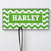 Personalized Dog Leash Hanger - Chevron - 16411