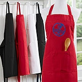 Personalized Chefs Aprons - Embroidered Family Brand - 16431
