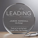 Personalized Premium Crystal Award - Inspirational Employee - 16440