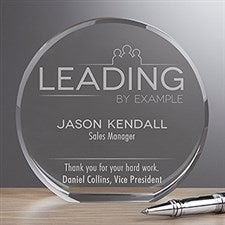 Personalized Premium Crystal Award - Inspirational Employee - 16440