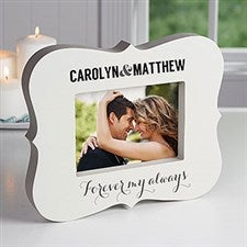 Personalized 5x7 Picture Frame Block for Couples - 16445