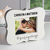 Personalized 5x7 Picture Frame Block - Forever My Always - 16445