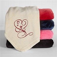 Personalized Fleece Blankets - Couple in Love - 16456