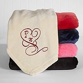 Personalized Fleece Blankets - Couple in Love - 16456