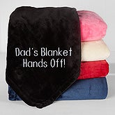 Personalized Fleece Blankets - Two Lines Custom Text - 16457
