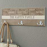 Personalized Coat Hanger - Our Loving Family - 16473