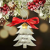 Baby's First Christmas Custom Hand Stamped Ornament - 16481D
