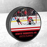 Personalized Photo Hockey Puck - Official Size - 16484