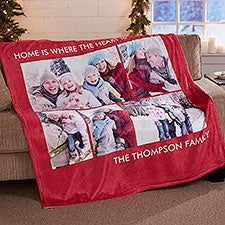 Picture Perfect Personalized Fleece Blankets - 16486
