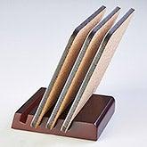 Mahogany Wood Coaster Holder - 16497