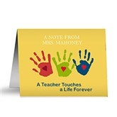 Touches a Life Teacher Note Cards & Envelopes - 10037-N