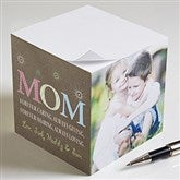 For Mom Paper Photo Note Cube-3 Photos - 10045-3
