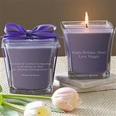 For Mom Scented Spa Candle- Lavender & Linen - 10046-L