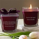 For Mom Scented Spa Candle- Mulberry - 10046-M