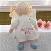 Embroidered Angel Doll-Blonde - 10073-A