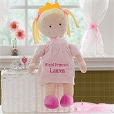 Embroidered Princess Doll-Blonde - 10074-A