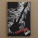 Rock On! Personalized Canvas Art - 10076