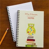 Wise Owl Personalized Mini Notebook Set of 4 - 10094