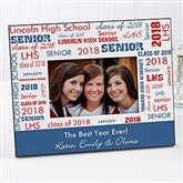 School Spirit Personalized Picture Frame - 10096