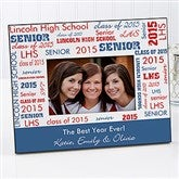 School Spirit Personalized Frame - 10096