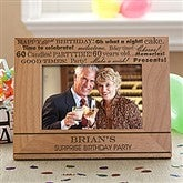 Birthday Fun Personalized Photo Frame - 10097