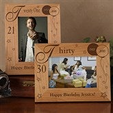 Birthday Memories Personalized Frame-4 x 6 - 1010