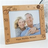 Birthday Memories Personalized Frame- 8 x 10 - 1010-L