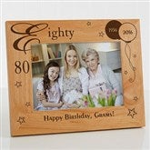 Birthday Memories Personalized Frame- 5 x 7 - 1010-M