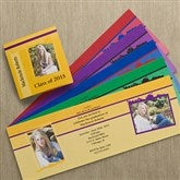 Graduation Announcement Square Tri-Fold Photo Cards - 10102