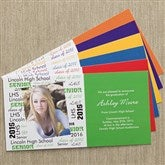 School Spirit Photo Postcards & Envelopes - 10105