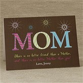 For Mom Personalized Greeting Card - 10156