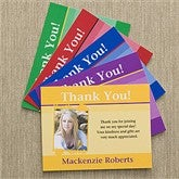 Graduation Announcement Custom Thank You Cards - 10164