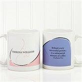My Monogram Personalized Quote Coffee Mug 11oz.- White - 10169-S