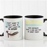 I'm Retired Personalized Retirement Coffee Mug 11oz.- Black - 10174-B