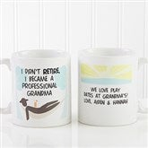 I'm Retired Personalized Retirement Coffee Mug 11oz.- White - 10174-S