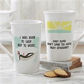 I'm Retired Personalized Retirement Latte Mug 16oz.- White - 10174-U
