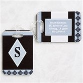 Frequent Flyer Personalized Luggage Tag Set