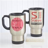 Personally Yours Stainless Steel Travel Mug - 10193
