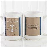Legal Ease Personalized Legal Quote Mug 15 oz.- White - 10218-L